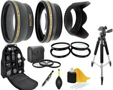 10PC Accessory Kit for Samsung NX2000 NX1000 NX300 NX210 NX200 NX30 NX11 18-55mm