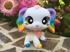 Mini Toy Pet Shop Cocker Spaniel Dog Rainbow Ooak Custom, Hand Painted