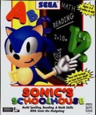 Sonic's Schoolhouse PC CD Sonic The Hedgehog education learning game! Grades K-4