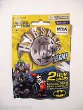 NEW NECA Batman HUBSNAPS Pack Series 1 Toy Fair Limited Edition DC Comics