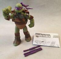 TMNT Flingers Donatello Action Figure with Weapons Teenage Mutant Ninja Turtles