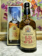 WHISKY J & B 15 YEARS OLD - JUSTERINI & BROOKS 75cl 43° RARE  SCOTCH WHISKY  JUS