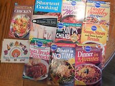 Recipe Books/ Magazines-  Dinner Meals, Pasta, Breads, Ice Cream, Soups & Stews