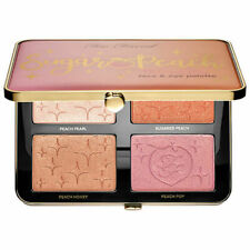 TOO FACED Sugar Peach Wet and Dry Face & Eye Palette New in Box Authentic