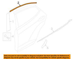 HYUNDAI OEM 17-18 Elantra Exterior-Rear-Black Out Tape Left 86382F2000