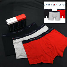 Tommy Hilfiger Boxershorts Aloha Trunk 3 Pack - Rot, Grau, Schwarz