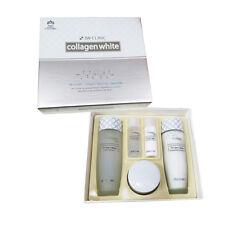 3W CLINIC Collagen White Skin Care Set (Softener, Emulsion, Whitening Cream)
