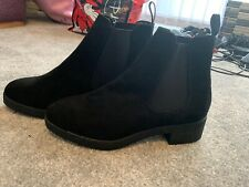 Black Ankle Boots Size 4