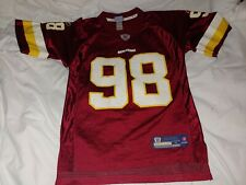 BRIAN ORAKPO  Washington Redskins   REEBOK Equipment  JERSEY   size small