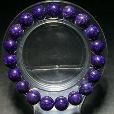 10mm Top Quality Natural Purple Charoite Crystal Gemstone Bracelet