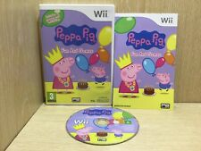Peppa Pig Fun and Games Nintendo Wii Game Boxed with Manual Acceptable Disc