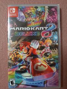 Mario Kart 8 Deluxe (Nintendo Switch, 2017) Brand New - Region Free