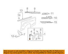 TOYOTA OEM Tundra Pick Up Box Bed-Wheel Fender Flare Molding Retainer 753920C030