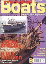 MODEL BOATS MAGAZINE 2000 JUL H.M.S. OCEAN, H.M.S. CRUISER, M V BENARTY