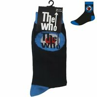 Official The Who Socks Target Mod Logo Roger Daltrey My Generation UK Size 7-11