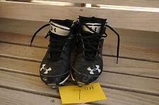 Under Armour Hammer football cleats size 7 mens white black