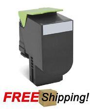 High Yield Black Toner Cartridge for Lexmark (80C1SK0) CX310 CX410 CX510 - 2.5k