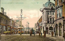 West Hartlepool. Church Street in Reliable Series / Sage's Series. Tram.