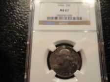 1956 SILVER WASHINGTON QUARTER NGC MS 67 RICHLY TONED GEM- VERY AFFORDABLE- OFFE