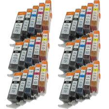 30 Pack CLI-221 PGI-220 INK For Canon PGI220 CLI221 PIXMA MP540 MP560 MP620 $