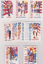 1991-92 SKYBOX OLYMPIC 1992 DREAM TEAM CARD SET MICHAEL JORDAN + 2 BONUS SETS