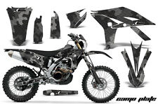 Graphics Kit Decal Sticker Wrap + # Plates For Yamaha WR450F 2012-2015 CAMO BLK