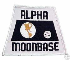 1999 ALPHA MOONBASE BLACK PATCH - AMB02