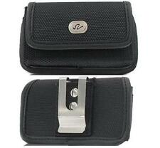 Samsung Galaxy S5 Phone Case Pouch Holster with Metal Clip, Belt Loop