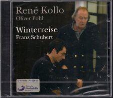 CD Rene Kollo, Olvier Pohl `Franz Schubert - Winterreise D. 911` Neu/New/OVP