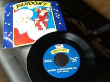 "PHROOMF . CHRISTMAS TOY PROMOTIONAL 7""  RECORD . VERY RARE . ADVERTISING PROMO"