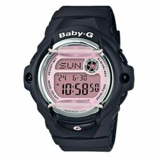 NEW Casio Women's Baby-G Digital Black Timepiece Sports Watch BG169M-1D