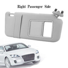 Drivers Side Sun Visor Sunshade for 2007-2011 Toyota Camry WithOut Sunroof Gray