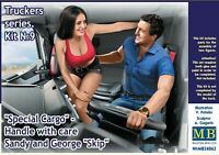"""Master Box 24062 """"Special Cargo"""" - Handle with care Sandy and George """"Skip"""" 1/24"""