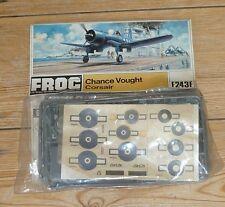 1972 grenouille 1/72 CHANCE VOUGHT CORSAIR (f243f sacs)
