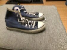 Converse All Star Hi Tops Chuck Taylor Trainer boots Size 6 Navy