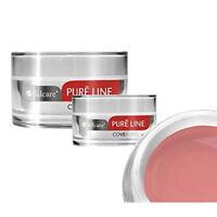 Silcare Pure Line Cover 15g 50g UV Gel Nails Acid Free Builder Medium File Off