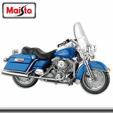 Maisto Modèle de Moto Harley Davidson Flathead kaki 1 18
