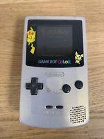 Authentic Nintendo Game Boy Color (CGB-001) Pokemon Limited Ed - No Batt Cover
