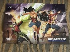2017 SDCC DC UNIVERSE ONLINE Wonder Woman Heroes Promo Poster