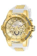 New Mens Invicta 26814 Bolt Quartz Chronograph Gold Dial 51.5mm Watch