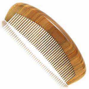 UK Seller! Handcraft Green Sandalwood Sandal Wood Hair Care Comb Gift 15.2 cm