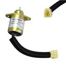 New Fuel Shut Off Shutdown Solenoid Kubota For Yanmar Synchro Start SA4569T 12V