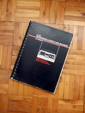 STUDER A710 - ORIGINAL PRINTED SERVICE INSTRUCTIONS