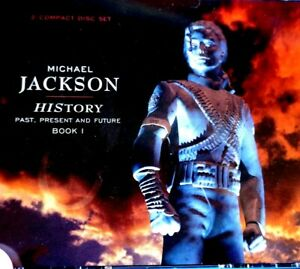 Michael Jackson - History, Past, Present And Future, Book 1, 2 CD Set  - CD, VG