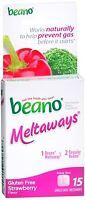 Beano Meltaways Strawberry 15 ea (Pack of 3)