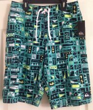 Quicksilver Pool Green Board Shorts-Size 30-NWT
