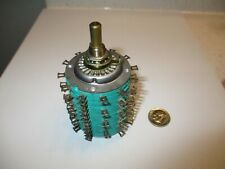 Audio Rotary Switch 4 Pole 23 Positions Shorting Electroswitch Nos