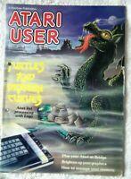 63109 Issue Vol 01 No 10 Atari User Magazine 1986