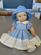 """Kewpie doll from the 1930's Composition 13"""""""