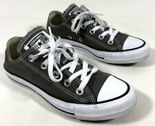 CONVERSE All Star Brown-Gray Low Top Shoes Sneakers Unisex Women's 6 Men's 4